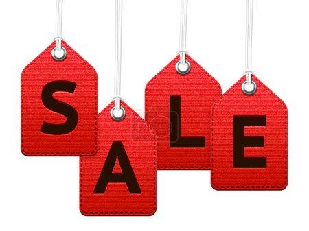 Sale textile labels