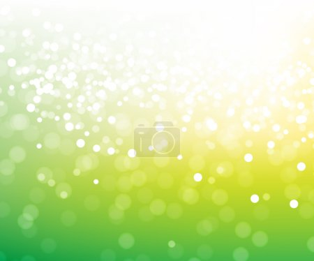 Green glitter magic background