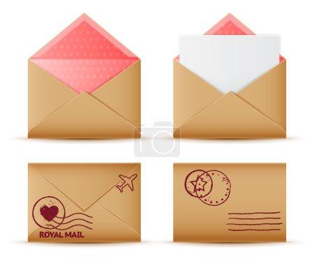 Realistic Envelope set