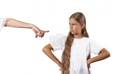 confrontation parent enfant