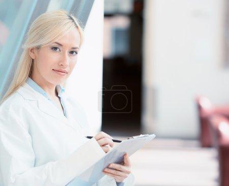 confident, female doctor, healthcare professional