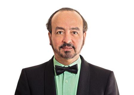 Headshot portrait mature gentleman handsome man in...