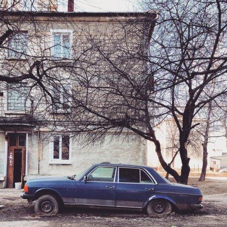 Old Mercedes car