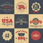 Design elements for Independence Day