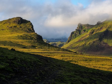 Typical landscape of Iceland