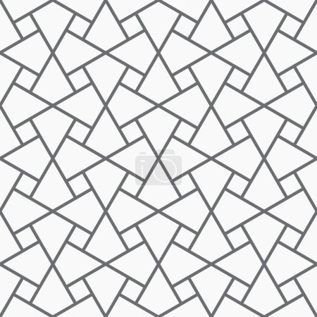 Vector seamless arabic pattern.