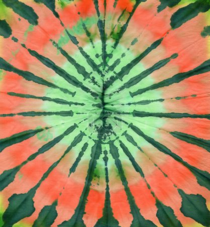 Photo for Abstract tie dyed fabric background - Royalty Free Image