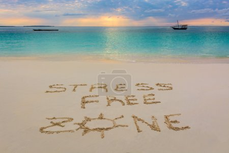 I wrote this message in Nungwi beach in Zanzibar,T...