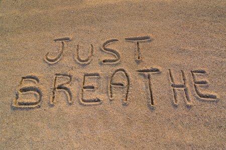 Just breathe symbol