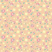 Textilní květiny vzor