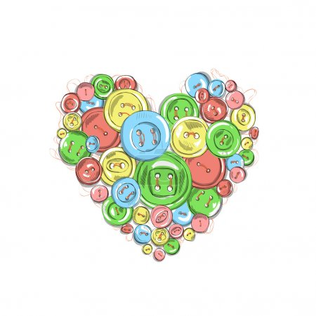 Heart of the buttons