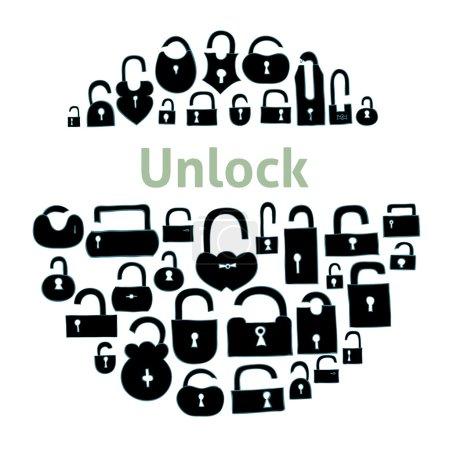 Open locks set