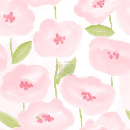 Flowers seamless pattern.