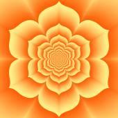 Tantric swadhisthana chakra, orange lotos, -  sexual chakra