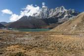 Gokyo lake a Gokyo obce, Everest