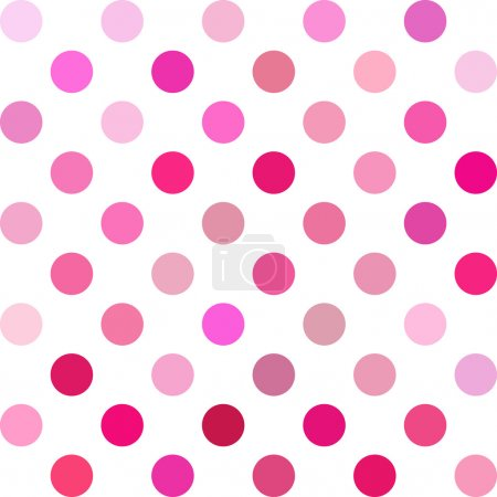 Pink Polka Dots Background, Creative Design Templates