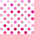 Pink Polka Dots Background, Creative Design Templa...