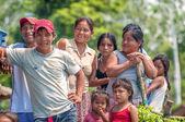 Loreto, Peru - leden 02: Neidentifikovaný místní pózuje pro fotoaparát