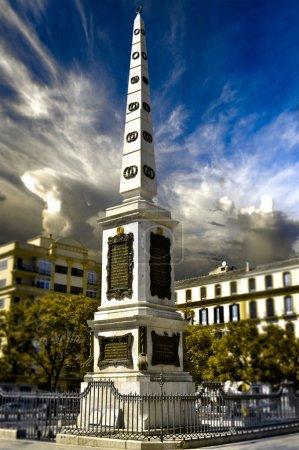 Photo pour Place de la Merced (Plaza de la Merced) à Malaga, Espagne - image libre de droit