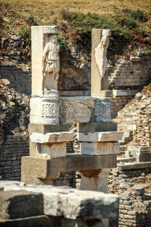 Turkey, Ephesus, ruins of the ancient roman city