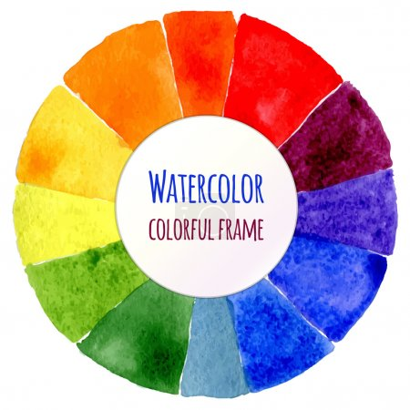 Handmade color wheel.