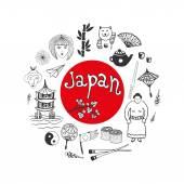 Japan culture elements for design