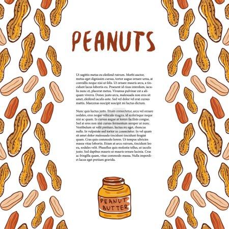 Cute peanuts template
