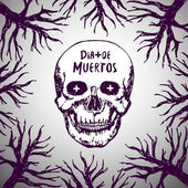 Dia de muertos - mexican background