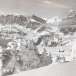 Dolomiti,italy jenuary 10 1960:Dolomites Val Badia...
