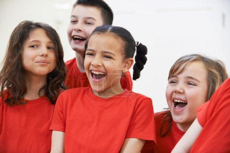 Photo for Group Of Children Enjoying Drama Class Together - Royalty Free Image