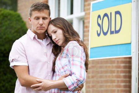 Young Couple Forced To Sell Home Through Financial Problems