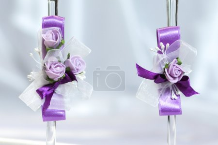 Wedding decoration in various shade