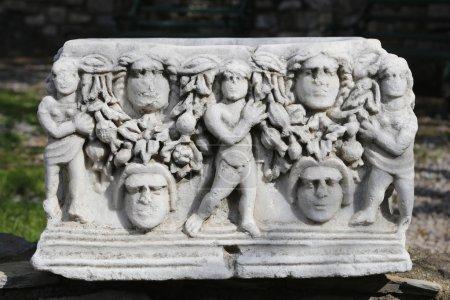 Sarcophagus in Bodrum Castle