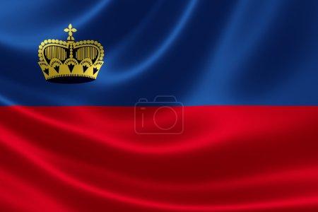 Flag of the Principality of Liechtenstein