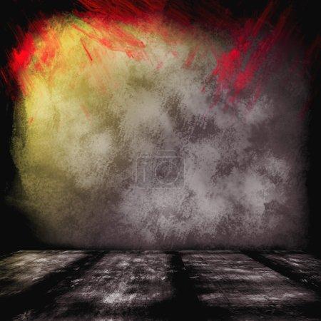 Photo pour Fond abstrait coloré flou de couleur avec des couleurs arc-en-ciel fond grunge texture conception mise en page, fond joyeux amusant, enfants lumineux retour à l'école arrière-plan, enfants art peinture arrière-plan - image libre de droit