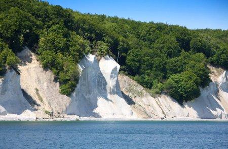 Photo pour Chalk-falaises Wissower Klinken à l'île de Ruegen après la rupture - image libre de droit