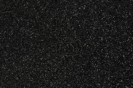 Photo pour Noir paillettes texture fond foncé - image libre de droit