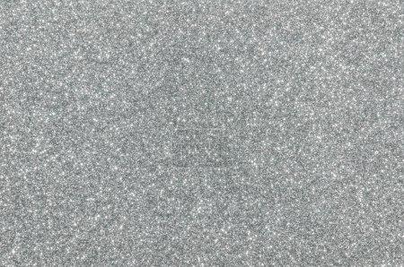 Photo pour Argent paillettes texture fond de Noël - image libre de droit