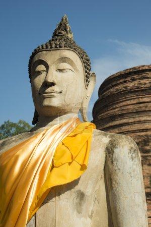 Buddha statue at the Wat yai chai