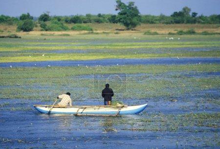 Fishermen at the coast of Nagombo