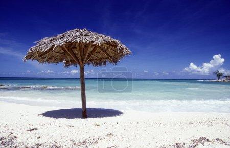 Photo for A beach on the coast of Varadero on Cuba in the caribbean sea. - Royalty Free Image
