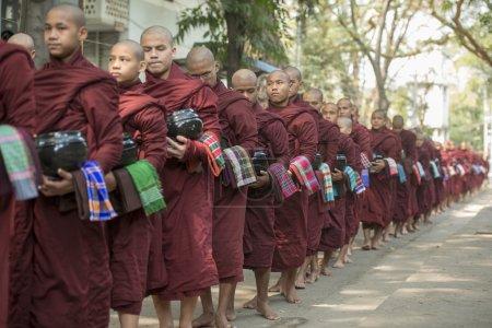 ASIA MYANMAR MANDALAY AMARAPURA MAHA GANAYON KYAUNG MONASTERY