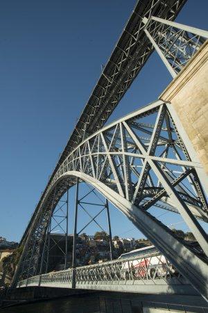 Ponte de Dom Luis 1 bridge over Douro