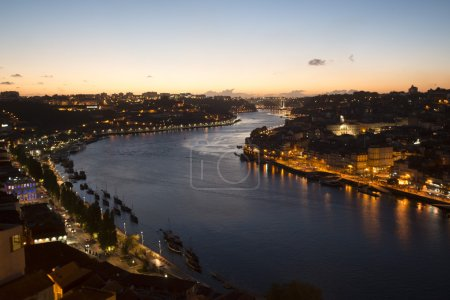 Picturesque view of Douro river