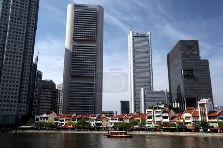 Bank quater at the Singapore River
