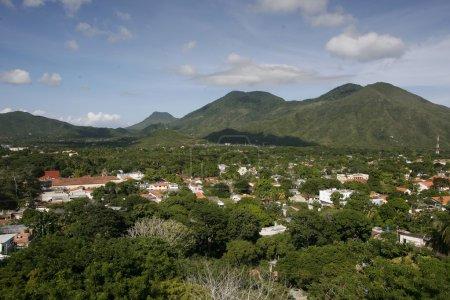 landscape near the town of La Asuncion