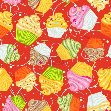 Cupcakes kitchen backgrounds