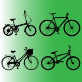 Silhouettes  Element to Bicycles