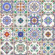 Vector seamless texture. Beautiful patchwork patte...