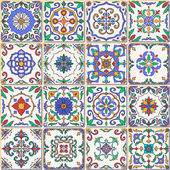 Vector seamless texture Beautiful patchwork pattern for design and fashion with decorative elements